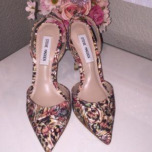 Steve Madden Paizle floral heel size 6 1/2